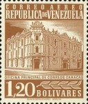 [Airmail - Caracas Central Post Office, type ASI30]