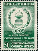 [Airmail - The 8th Central American and Caribbean Games - Caracas, Venezuela, type AVP9]