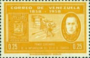 [The 100th Anniversary of First Venezuelan Postage Stamps, type AVZ]