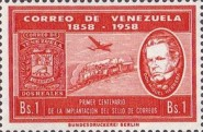 [The 100th Anniversary of First Venezuelan Postage Stamps, type AWB]