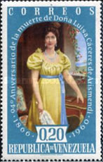[The 94th Anniversary of the Death of Luisa Caceres de Arismendi, 1799-1866, type AYT3]