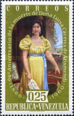 [The 94th Anniversary of the Death of Luisa Caceres de Arismendi, 1799-1866, type AYT4]