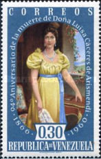 [The 94th Anniversary of the Death of Luisa Caceres de Arismendi, 1799-1866, type AYT5]