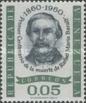 [The 100th Anniversary of the Death of Rafael Maria Baralt, Writer, 1810-1860, type BAK]