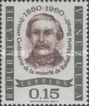 [The 100th Anniversary of the Death of Rafael Maria Baralt, Writer, 1810-1860, type BAK1]
