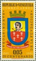 [Airmail - The 400th Anniversary of San Cristobal, type BAR]