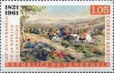 [Airmail - The 140th Anniversary of Battle of Carabobo, type BBC1]