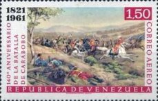 [Airmail - The 140th Anniversary of Battle of Carabobo, type BBC2]