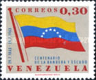 [The 100th Anniversary of National Flag and Coat of Arms of Venezuela, type BEB]