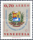 [Airmail - The 100th Anniversary of National Flag and Coat of Arms of Venezuela, type BEC]