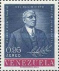[Airmail - The 100th Anniversary of the Birth of Dr. Luis Razetti, Founder of University School of Medicine and of Vargas Hospital, 1862-1932, type BER]