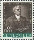 [Airmail - The 100th Anniversary of the Birth of Dr. Luis Razetti, Founder of University School of Medicine and of Vargas Hospital, 1862-1932, type BER1]
