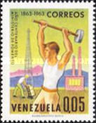 [The 100th Anniversary of Venezuelan Ministry of Works and National Industries Exhibition, Caracas, type BEX]