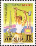 [The 100th Anniversary of Venezuelan Ministry of Works and National Industries Exhibition, Caracas, type BEZ]