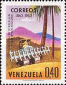 [The 100th Anniversary of Venezuelan Ministry of Works and National Industries Exhibition, Caracas, type BFB]