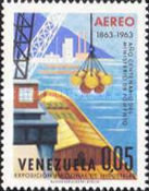 [Airmail - The 100th Anniversary of Venezuelan Ministry of Works and National Industries Exhibition, Caracas, type BFC]
