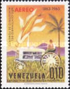 [Airmail - The 100th Anniversary of Venezuelan Ministry of Works and National Industries Exhibition, Caracas, type BFD]