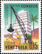 [Airmail - The 100th Anniversary of Venezuelan Ministry of Works and National Industries Exhibition, Caracas, type BFE]