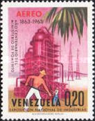 [Airmail - The 100th Anniversary of Venezuelan Ministry of Works and National Industries Exhibition, Caracas, type BFF]