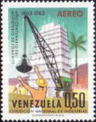 [Airmail - The 100th Anniversary of Venezuelan Ministry of Works and National Industries Exhibition, Caracas, type BFG]