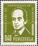 [The 100th Anniversary of the Death of Pedro Gual, Statesman, 1784-4862, type BFH]