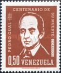 [The 100th Anniversary of the Death of Pedro Gual, Statesman, 1784-4862, type BFH1]