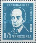[Airmail - The 100th Anniversary of the Death of Pedro Gual, Statesman, 1784-4862, type BFH2]