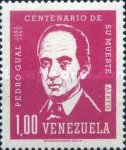 [Airmail - The 100th Anniversary of the Death of Pedro Gual, Statesman, 1784-4862, type BFH3]