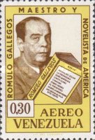 [Airmail - The 80th Anniversary of the Birth of Romulo Gallegos, Novelist, 1884-1969, type BFU]