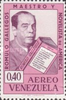 [Airmail - The 80th Anniversary of the Birth of Romulo Gallegos, Novelist, 1884-1969, type BFU1]