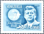 [Airmail - The 2nd Anniversary of the Death of John F. Kennedy, 1917-1963, type BIO2]