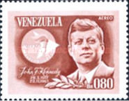 [Airmail - The 2nd Anniversary of the Death of John F. Kennedy, 1917-1963, type BIO3]