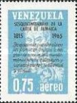 [Airmail - The 150th Anniversary of Bolivar's Letter from Jamaica, type BJC]