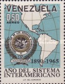 [Airmail - The 75th Anniversary of Organization of American States, type BJH]