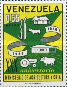 [Airmail - The 30th Anniversary of Ministry of Agriculture and Husbandry, type BJO]