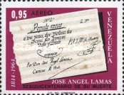 [Airmail - The 150th Anniversary of the Death of Jose Lamas, Composer, type BKC1]