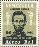 [Airmail - The 100th Anniversary of the Death of Abraham Lincoln, 1809-1865, type BKK]