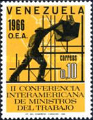 [The 2nd O.E.A. Labour Ministers Conference, type BKL]