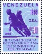 [The 2nd O.E.A. Labour Ministers Conference, type BKN]