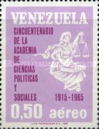[Airmail - The 50th Anniversary of Political and Social Sciences Academy, type BLM]