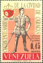 [Airmail - The 400th Anniversary of Caracas, type BLV]