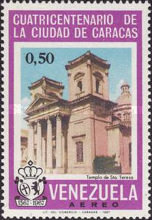 [Airmail - The 400th Anniversary of Caracas, type BLW]