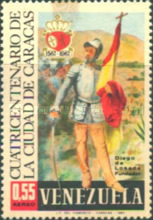 [Airmail - The 400th Anniversary of Caracas, type BLX]