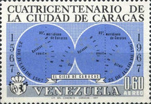 [Airmail - The 400th Anniversary of Caracas, type BLY]