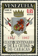 [Airmail - The 400th Anniversary of Caracas, type BLZ]