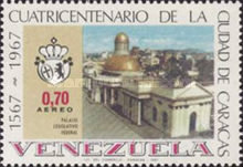 [Airmail - The 400th Anniversary of Caracas, type BMA]