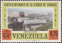 [Airmail - The 400th Anniversary of Caracas, type BMB]