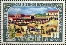 [Airmail - The 400th Anniversary of Caracas, type BME]
