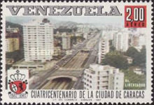 [Airmail - The 400th Anniversary of Caracas, type BMF]