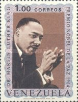 [The 1st Anniversary of the Death of Martin Luther King, 1929-1968, type BOS]